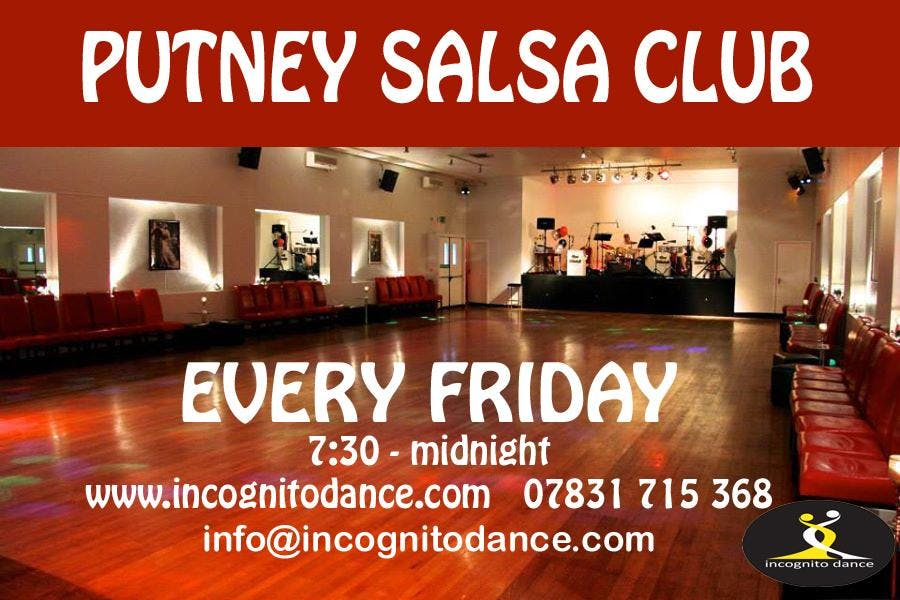 Salsa classes and dancing - Putney Salsa Club every Friday
