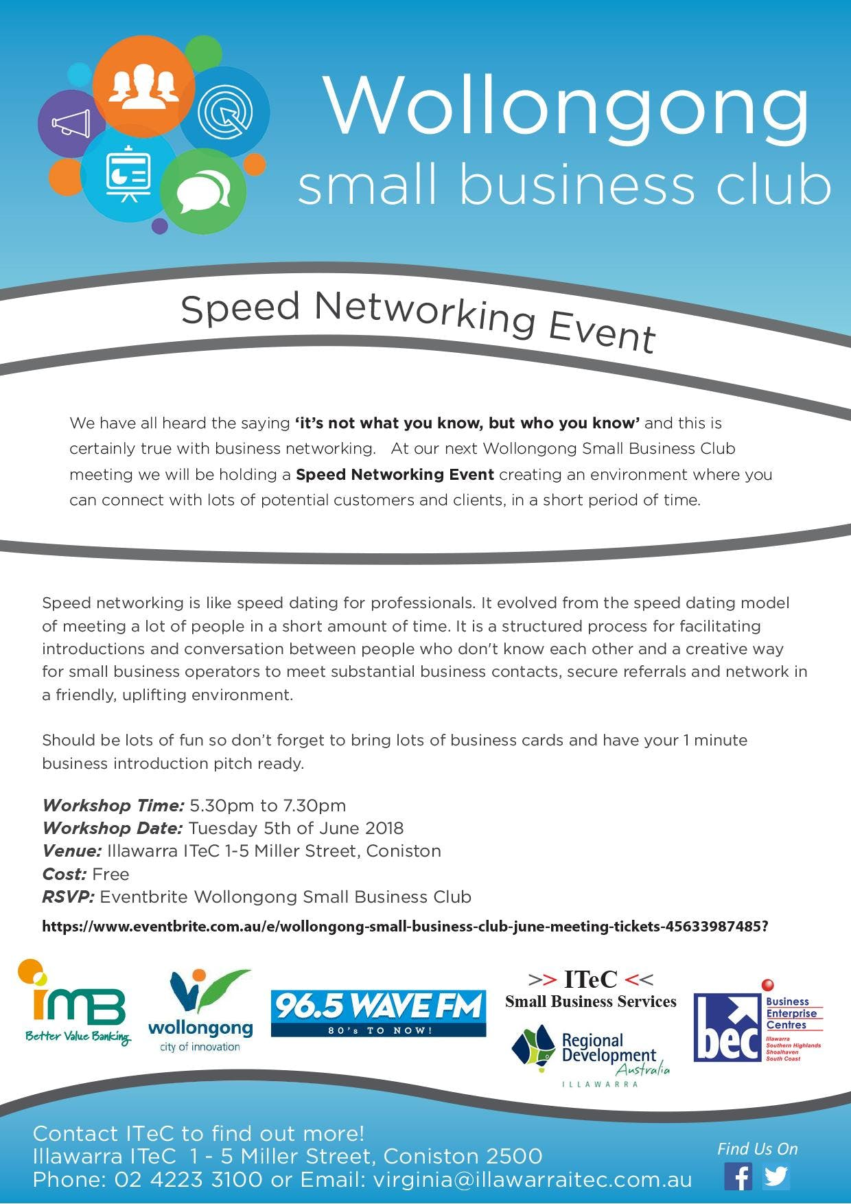 speed dating for small business The source connection is a speed-dating opportunity for small business owners to market their products and services to federal agencies, federal prime contractors or other large businesses.