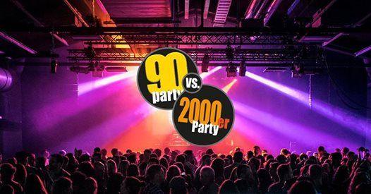 90er vs 2000er Party