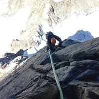 Winter Talk  Mittellegi Ridge and the Dent de Geant