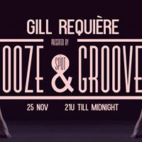 Booze &amp Grooves With Gill Require