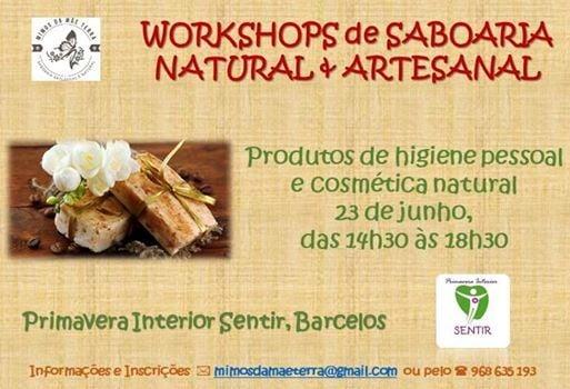 Workshop de Saboaria  Produtos de Higiene Pessoal e Cosmtica
