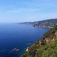 Caminos de ronda de la Costa Brava Sant Feliu de Guxols sur