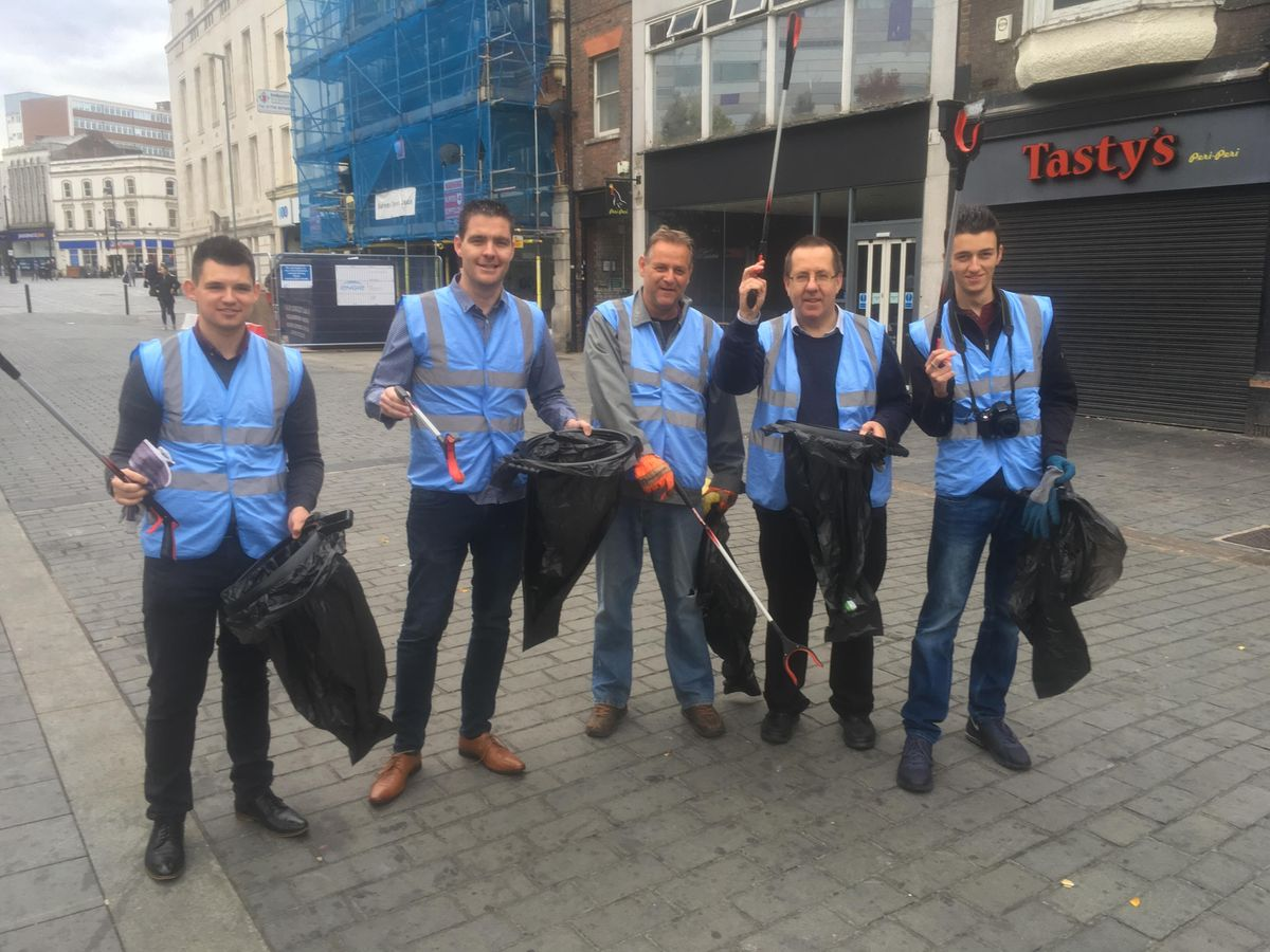 Luton Town Centre Tidy Day