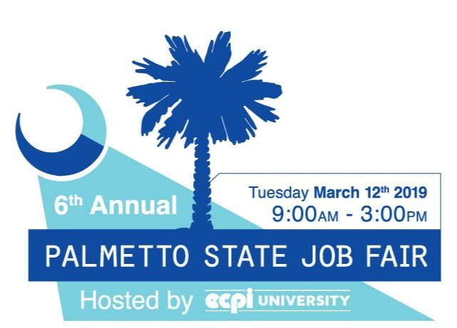 JOB SEEKER Registration - 2019 Palmetto State Job Fair Hosted by ECPI University