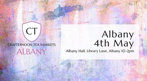 Crafternoon Tea - Albany 4th May