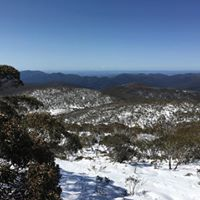 Griffin Climbs Mount Gingera