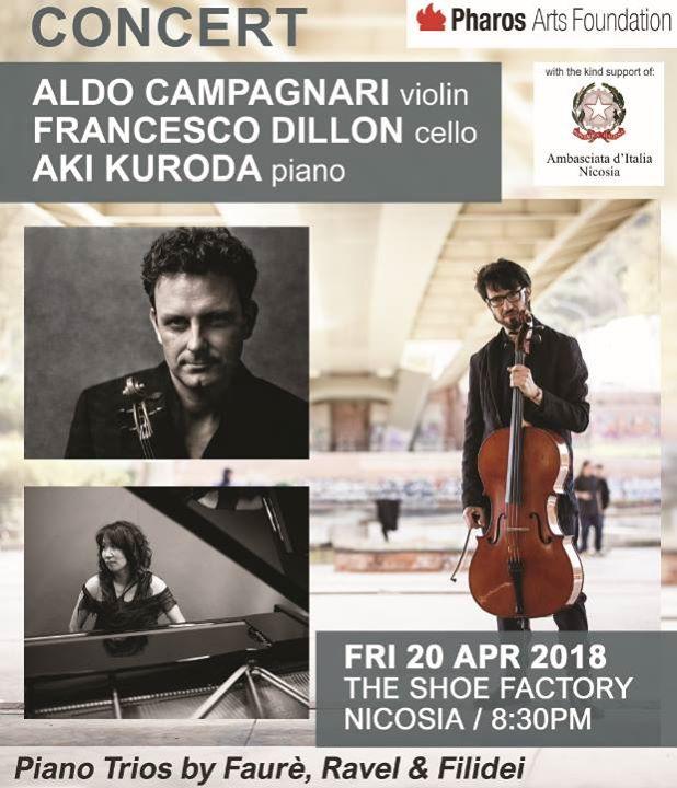 Concert Aldo Campagnari Francesco Dillon & Aki Kuroda