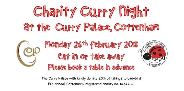 Charity Curry Night At The Curry Palace Cambridge