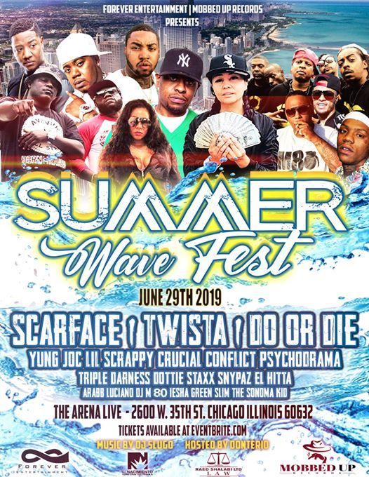 Summer Wave Fest Do Or Die Twista Scarface Yung Joc & More