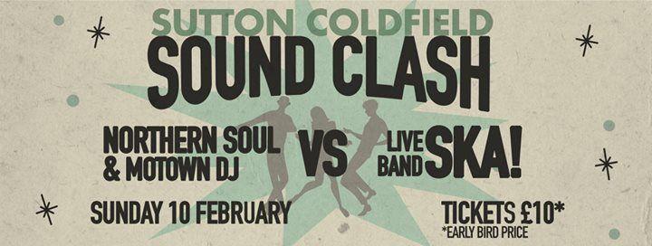 Sutton Sound Clash Northern Soul Night