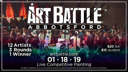 Art Battle Abbotsford - January 18 2019