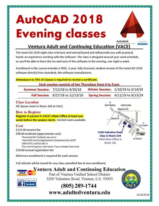 Adult continuing education in california