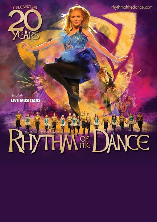 Rhythm of the Dance 20th Anniversary Irish Tour.