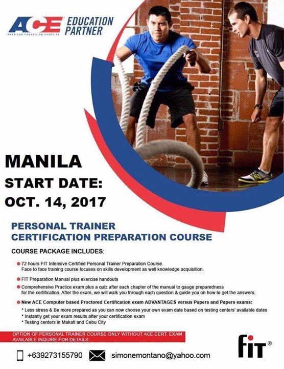 FIT Certified Personal Trainer Prep Course at Functional Fitness ...