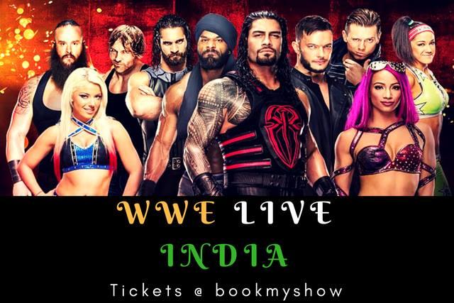 WWE India Live 2017 - Delhi