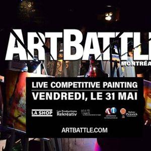 Art Battle Montral - 31 Mai 2019