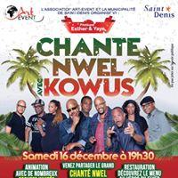 Chante NWEL avec KOWUS Samedi 16 dcembre  19h30