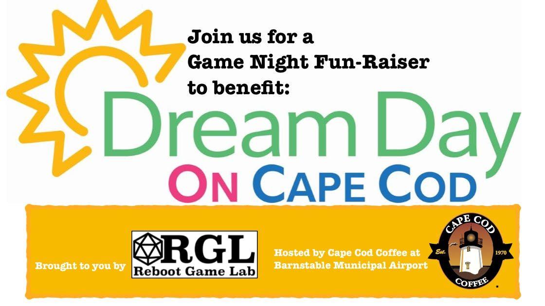 dream day on cape cods game night fun raiser at cape cod coffee