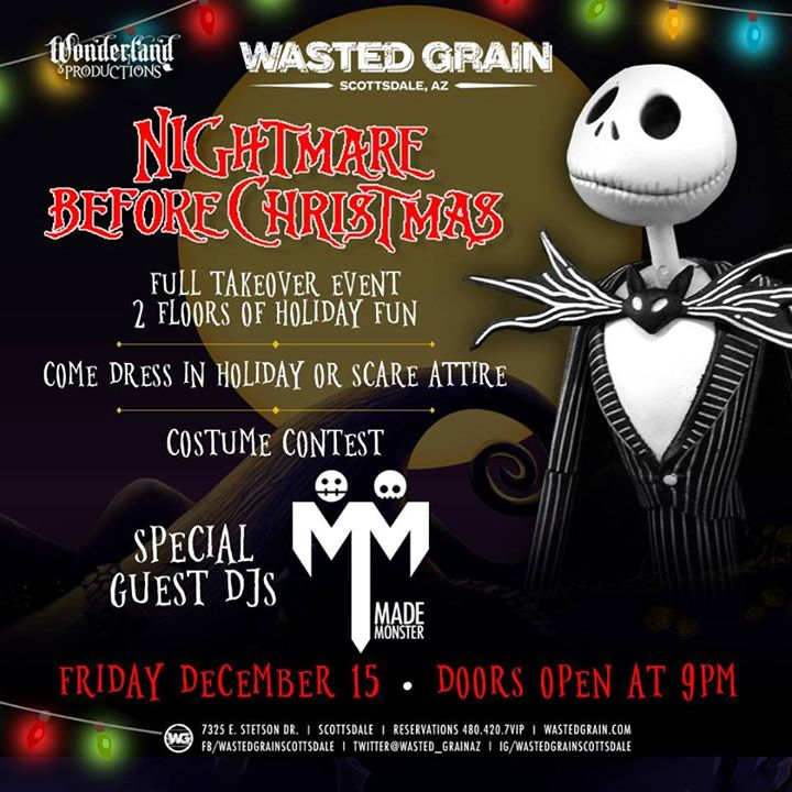 nightmare before christmas party featuring made monster - When Was The Nightmare Before Christmas Made