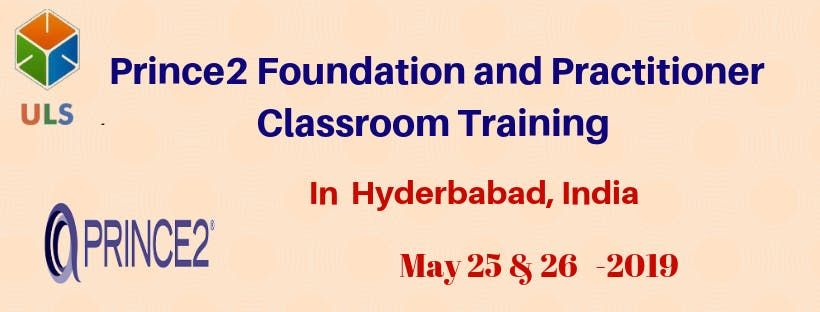 PRINCE2 Foundation & Practitioner Certification Training Course in Hyderabad India