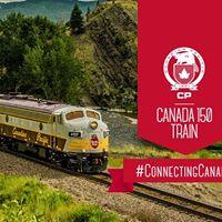 CP Canada 150 Train in Port Moody
