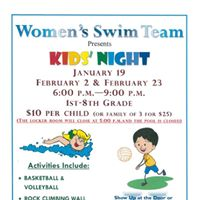 Kids Night with Charger Swim
