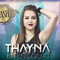 Thayna Bittencourt na Nash