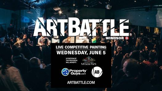 Art Battle Windsor - June 5 2019