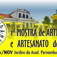 1 Mostra de Arte Design e Artesanato do Recife Feito a Mo