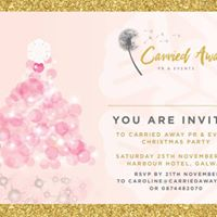 Carried Away PR &amp Events Christmas Party