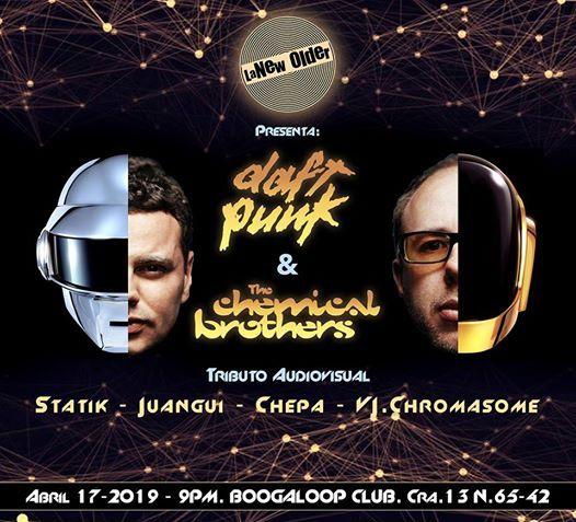 La New Older Daft Punk & Chemical Brothers. Tributo audiovisual