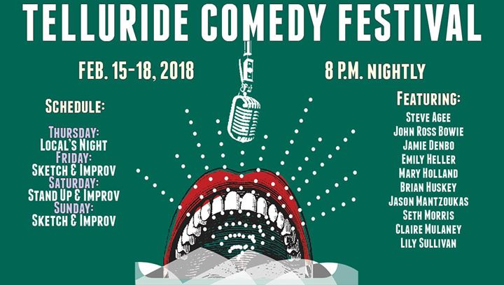 Telluride Comedy Fest at Sheridan Opera House, Telluride