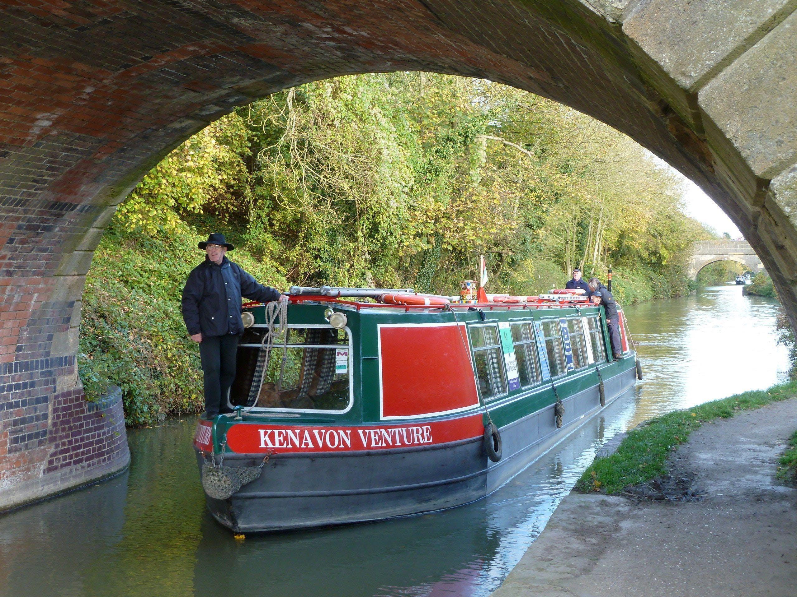 Peculiar Gin Company Canal Boat Cruise