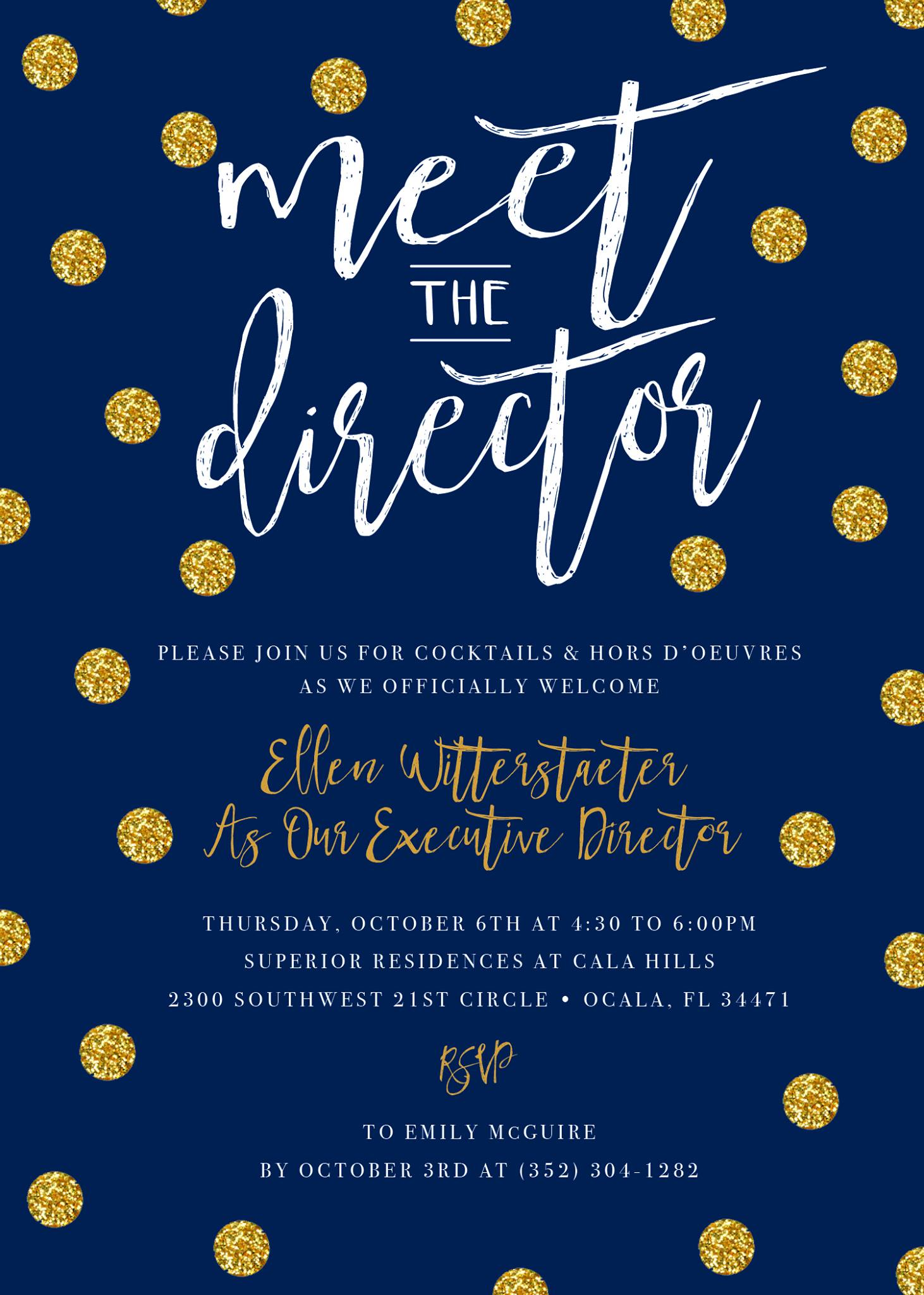 Meet The Director At Superior Residences At Cala Hills Ocala