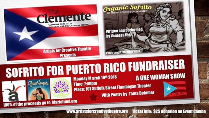 Sofrito for Puerto Rico