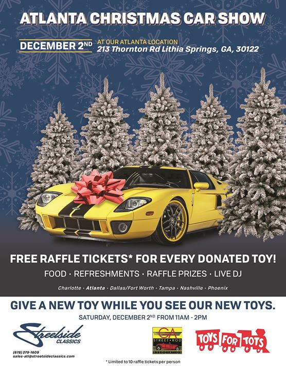 Atlanta Christmas Car Show At Streetside Classics Atlanta Lithia - Car show atlanta ga