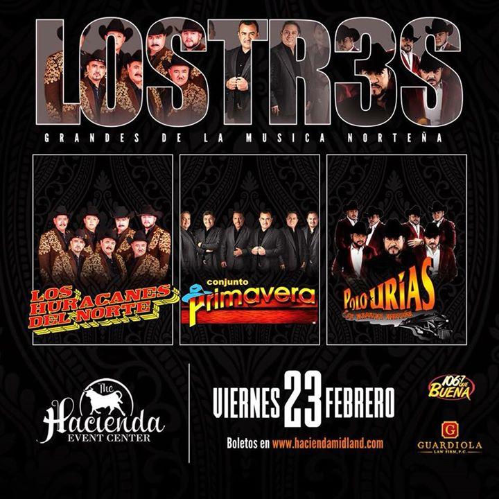 Midland/Odessa,Tx LOS TRES GRANDES At La Hacienda Event