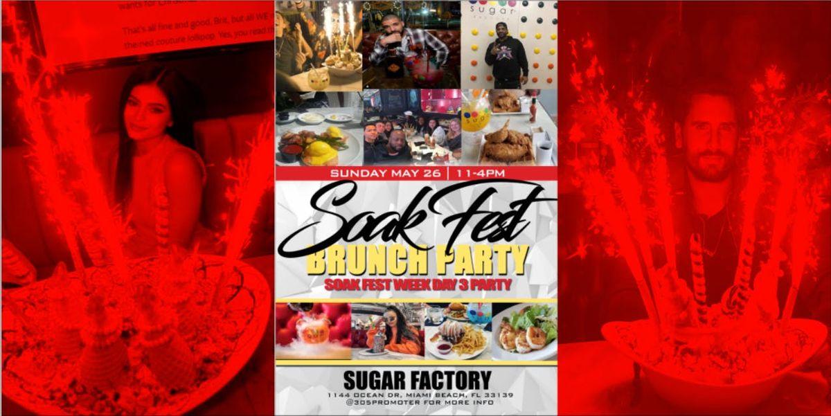 Soak Fest Brunch Party - Soak Fest Week Day 3