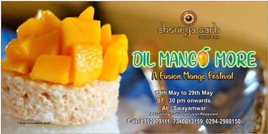 Dil Mango More - A Fusion Mango festival