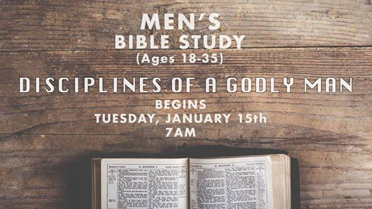 Mens Bible Study (Ages 18-35)
