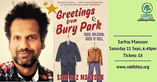 Sarfraz Manzoor Greetings from Bury Park (MK Lit Fest 2018)