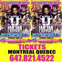 JAB JAB Jouvert Get Your Tickets in Montreal 6478214522