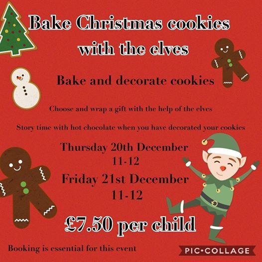 Christmas Cookie Bake Off At The Hollybush494 Penn Road Wv4 4hu