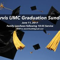 Jarvis UMC Graduation Sunday &amp Family Luncheon