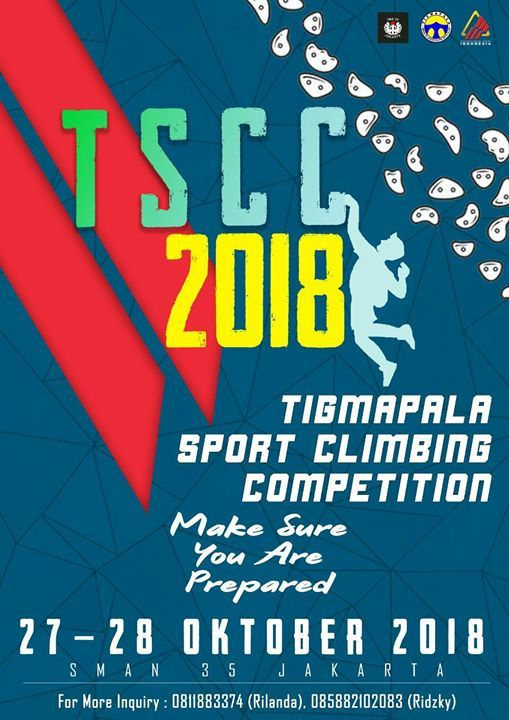 TIGMAPALA Sport Climbing Competition 2018