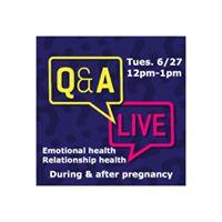LIVE Q&ampA