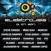 Steve Parker at Electrojaia Festival Bilbao