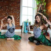 Partner Yoga with Joanna &amp Becky