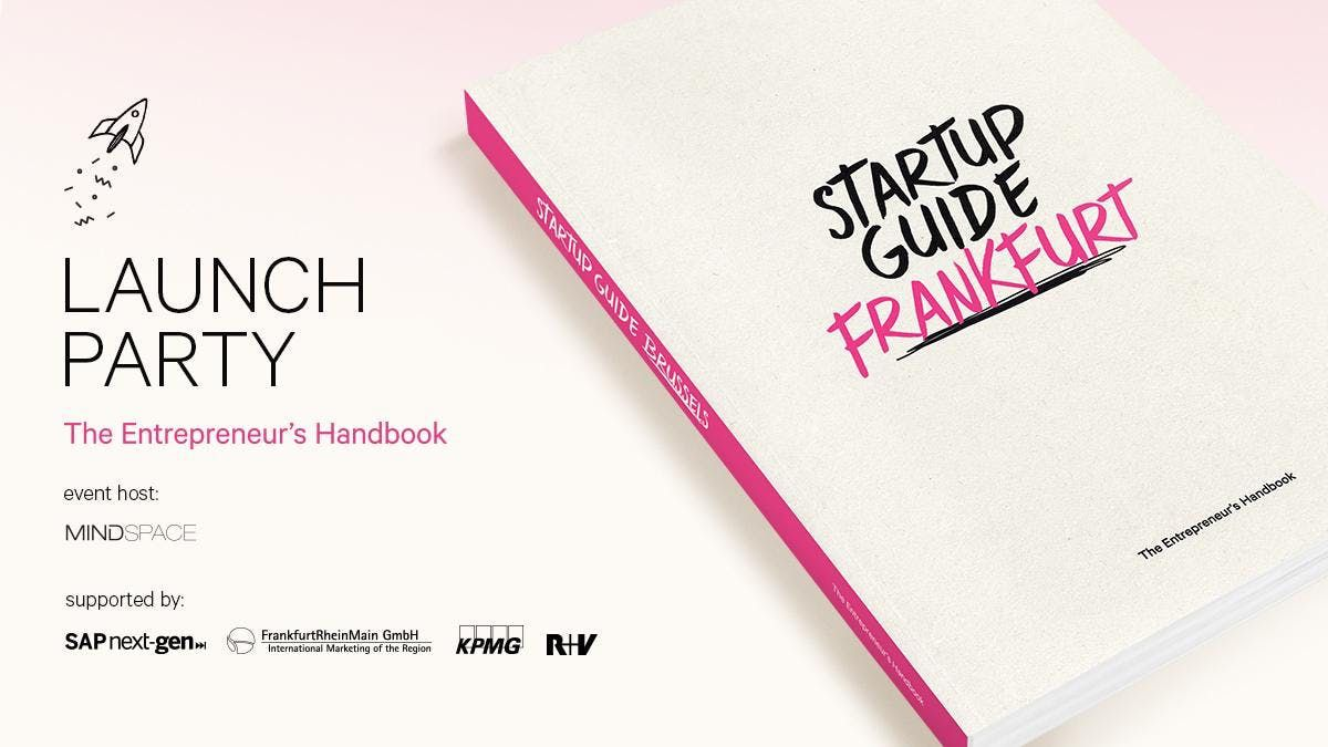 Startup Guide Frankfurt Launch Party
